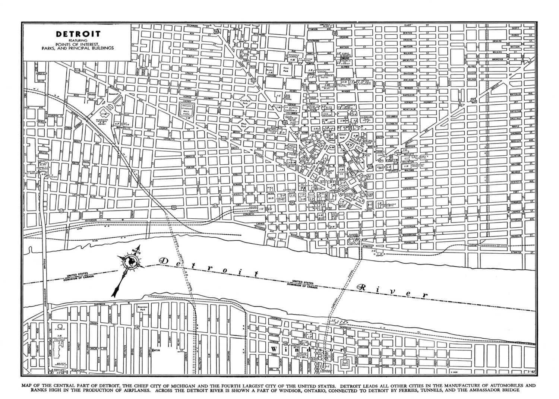 Ideas Map Of Michigan Ferries On Christmashappynewyearsdownload - Mapa de michigan